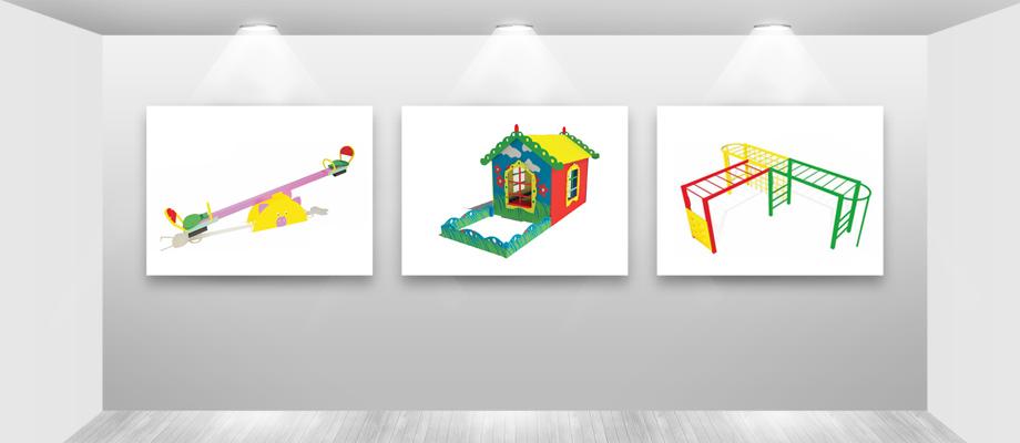 Детские площадки для дачных поселков