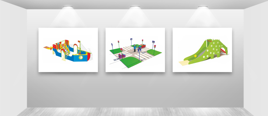 Уличные площадки в детских садах